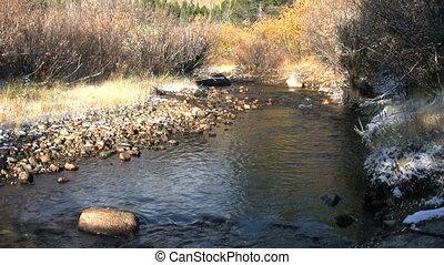Mountain Stream in Fall