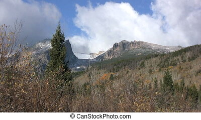 Rocky Mountains in Fall - a beautiful colorado mountain...