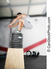 Crossfit Working Out Series