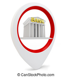 3d round pointer with bank