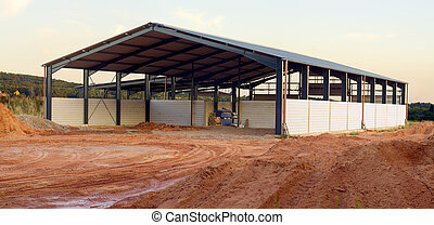 New agriculture building - A new agriculture building in the...