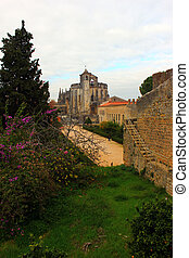 Christ Convent, Tomar, POrtugal - The Christ Convent at...