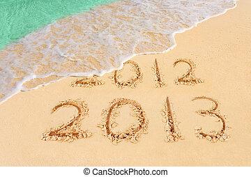 playa, números,  2013