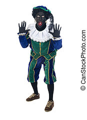 "Zwarte Piet is a Dutch tradition during ""Sinterklaas"", which..."