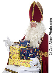 Sinterklaas and presents - Sinterklaas and some presents