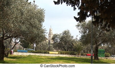 City Park in Jerusalem