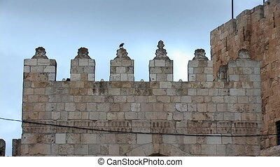 Tower of David in Jerusalem a - Tower of David in Jerusalem