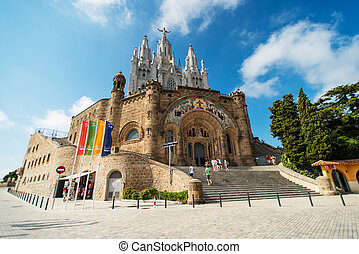 Temple at Tibidabo