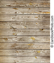 wood planks texture - old knotted wooden planks texture