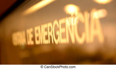 Emergency window 01 - Visuals for vjs. Emergency windows on...