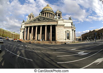 petersburg isaakivskij sobor - Russia. St.-Petersburg. An...