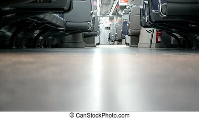 Floor on the train - its a view from the trains floor2012;...