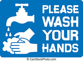 please wash your hands sign please wash your hands icon,...