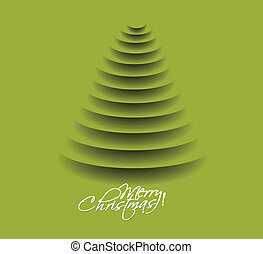 merry christmas tree design