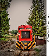 Train - An Hungarian old train Egy reg vonat