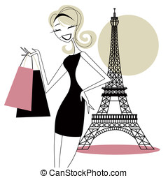 Pretty Woman Shopping in Paris - Pretty woman shopping in...