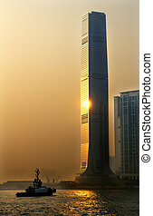 Inernational Commerce Center ICC Building Kowloon Hong Kong...
