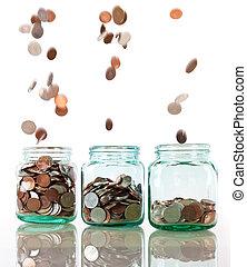 ahorros, concepto