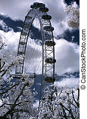 LONDON, UNITED KINGDOM - JULE 6: London Eye on Jule 6, 2011...
