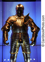 armor Knight in Tower, London, UK