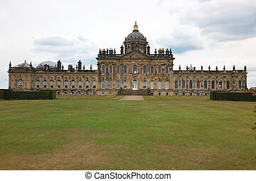 Castle Howard in North Yorkshire, England, at north of York,...