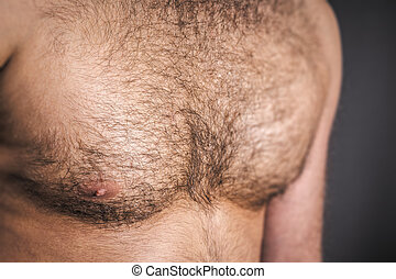hairy chest - An image of a nice hairy chest