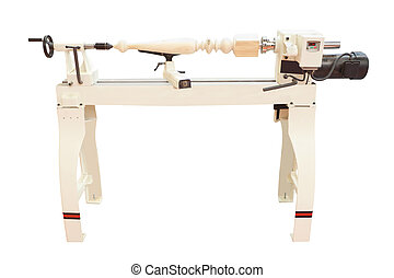woodworking machine - The image of a woodworking machine