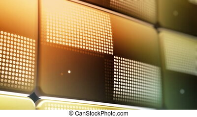 Fun, Cool, New, Improved LED Screen - Four clips of the...