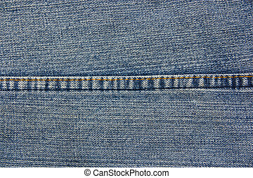 Seams on the denim texture, background textures.