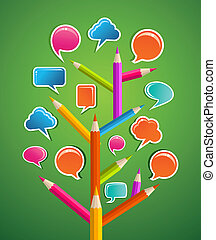 Educative Social media tree