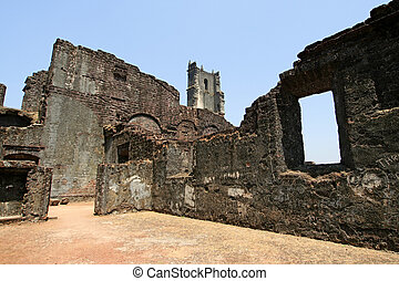 Old Goa - sights and architecture of Old Goa