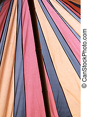 Circus tent colors - Colored circus tent, handmade fabric...