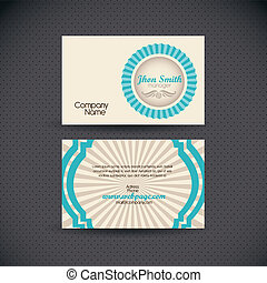 Business Card retro