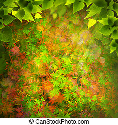 Beauty Nature. Abstract natural backgrounds for your design