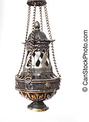 Incense holder used in religious ceremonies in church