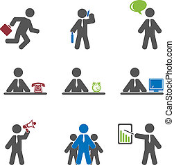 Business icon  - Business icon. Vector set for you design