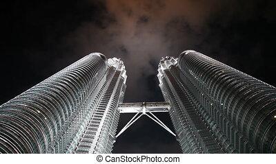 Petronas Towers Kuala Lumpur - KUALA LUMPUR - OCTOBER 20:...