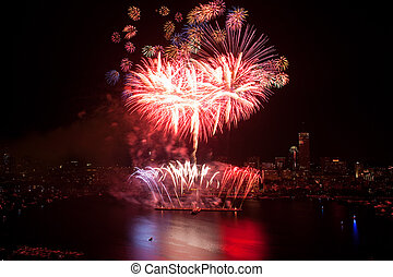 4th of July Fireworks in Boston