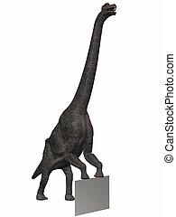 Brachiosaurus - 3D Render of an Dinosaur