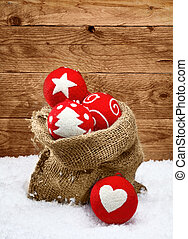 Beautiful handcrafted Christmas decorations