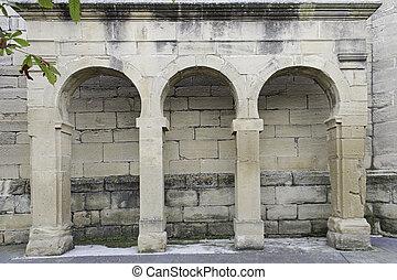 Arches architectural - Architectural arches built of stone,...