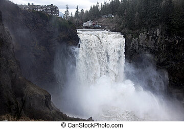 Snoqualmie Falls near Seattle, Washington