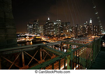 Brooklyn bridge and NY - brooklyn bridge and NY