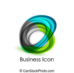 Abstract business icon