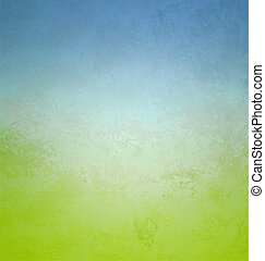 gradient retro style paper cyan and green colors