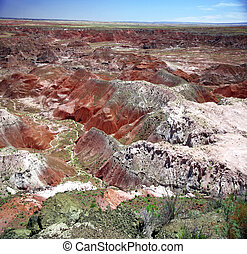 Painted Desert National Park in Arizona, USA