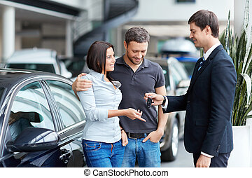 Deal - Young couple buys a car