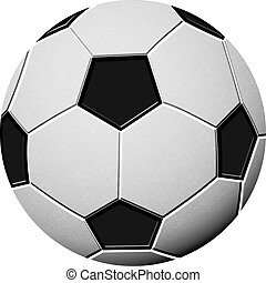 soccer ball - isolated soccer ball