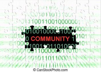 Web community concept