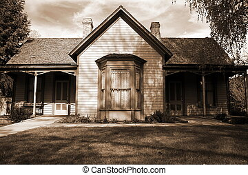 old craftsman style home